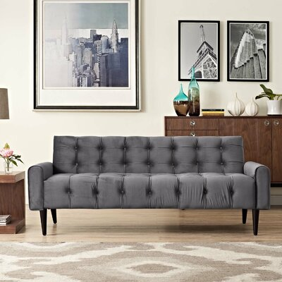 Hooper Sofa Upholstery: Gray