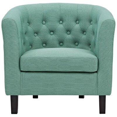 Birnbaum Chesterfield Chair Upholstery: Laguna