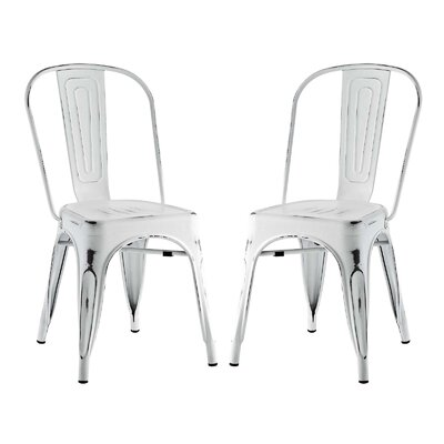 Ashlyn Dining Side Chair Finish: White