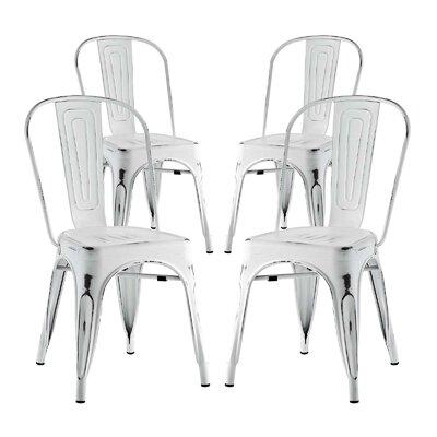 Ashlyn Dining Side Chair Finish: White