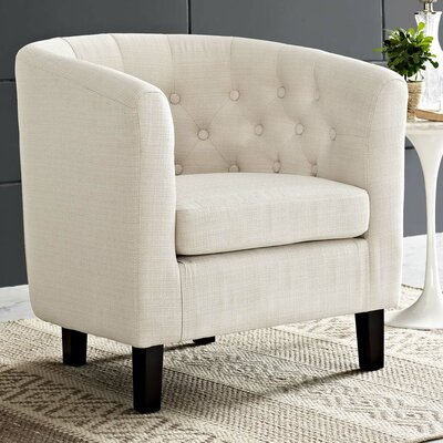 Ziaa Chesterfield Chair Upholstery: Beige