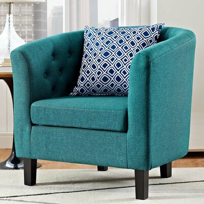 Ziaa Chesterfield Chair Upholstery: Teal