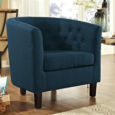Ziaa Chesterfield Chair Upholstery: Azure