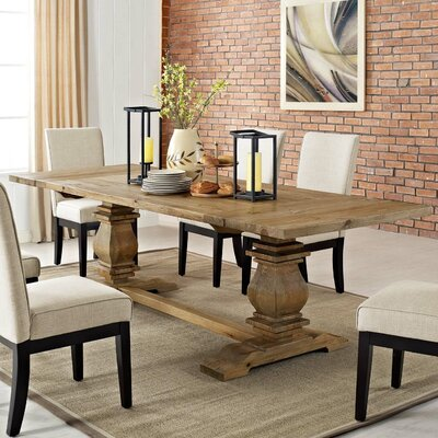 Camden Rise Wood Extendable Dining Table