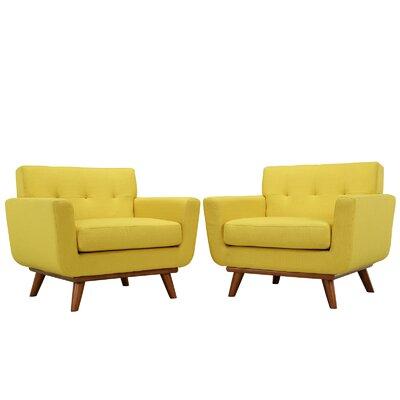 Saginaw Armchair Upholstery: Sunny