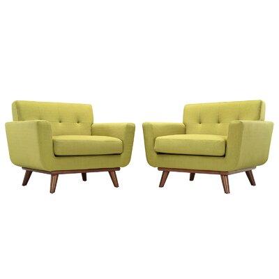 Saginaw Armchair Upholstery: Wheatgrass