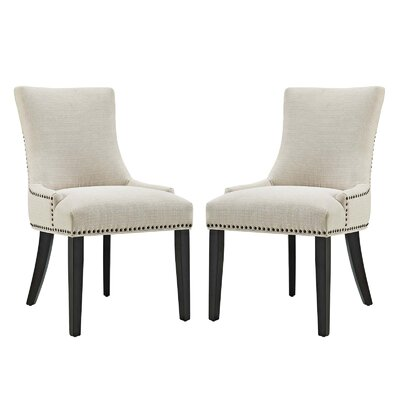 Enfield Upholstered Dining Chair Upholstery Color: Beige