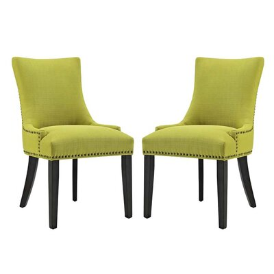 Enfield Upholstered Dining Chair Upholstery Color: Wheatgrass