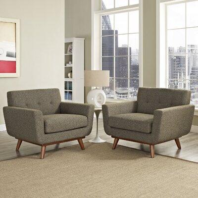Saginaw Armchair Upholstery: Oatmeal
