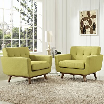 Saginaw Armchair Upholstery: Wheatgrass