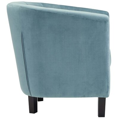 Oxford Velvet Barrel Chair