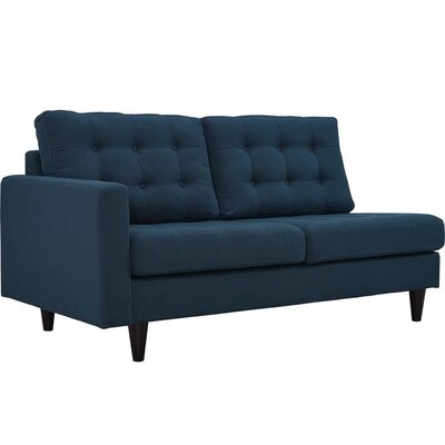 Warren Sectional Upholstery: Azure, Orientation: Right Hand Facing