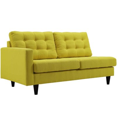 Warren Sectional Upholstery: Sunny, Orientation: Right Hand Facing