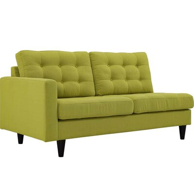 Warren Sectional Upholstery: Wheatgrass, Orientation: Right Hand Facing