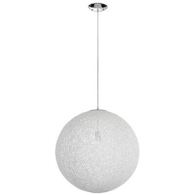Elizabethville 1-Light Globe Pendant