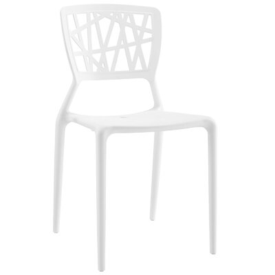 Prejean Dining Chair Finish: White