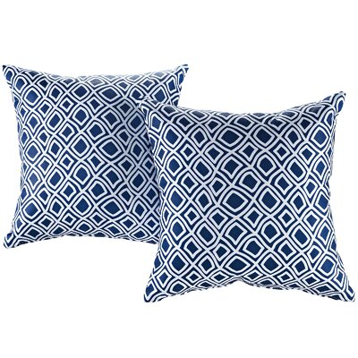 Fabela Outdoor Throw Pillow Color: Balance