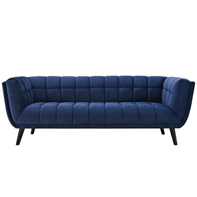 Worthey Sofa Upholstery: Navy