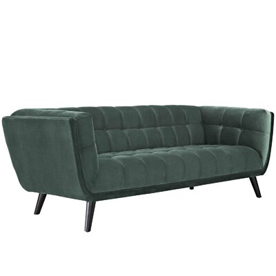 Worthey Sofa Upholstery: Green