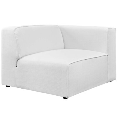 Worthley Armchair Upholstery: White
