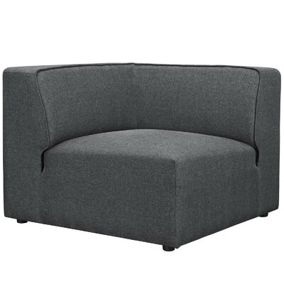 Worthley Corner Sofa Upholstery: Gray