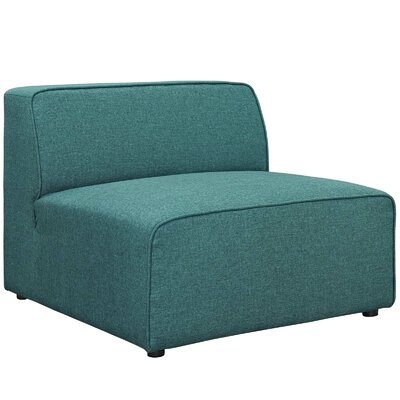 Worthley Side Chair Upholstery: Teal