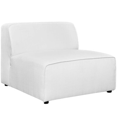 Worthley Side Chair Upholstery: White
