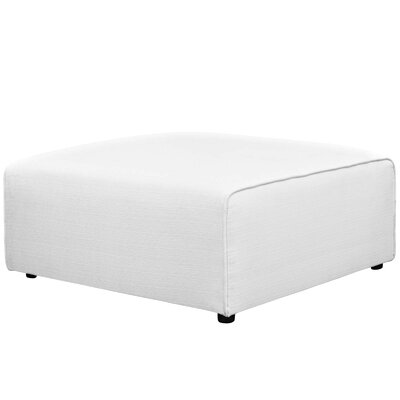 Worthley Ottoman Upholstery: White