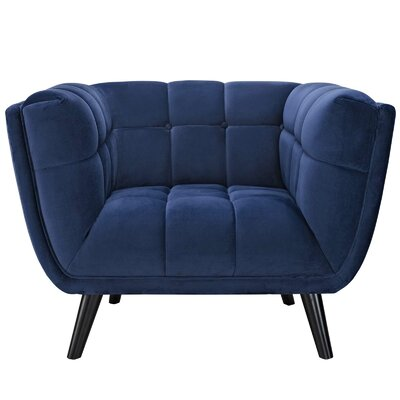 Worthey Armchair Upholstery: Navy