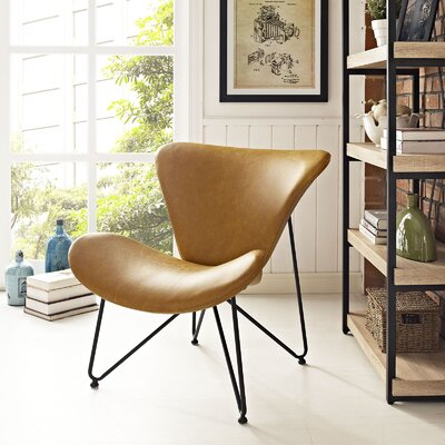 Glide Lounge Chair Upholstery: Tan