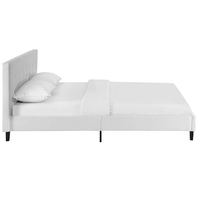 Molinaro Queen Upholstered Platform Bed