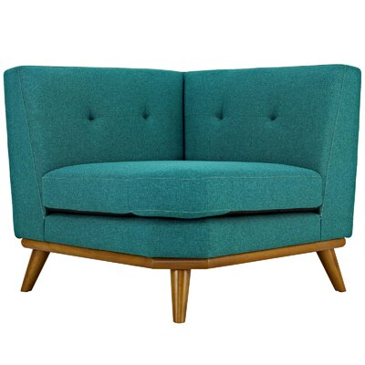 Johnston Armchair Upholstery: Teal