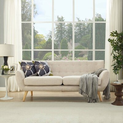 Meggie Sofa Upholstery: Beige
