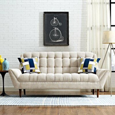 Freeborn Sofa Upholstery: Beige