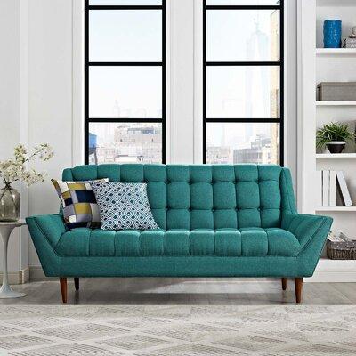 Freeborn Sofa Upholstery: Teal