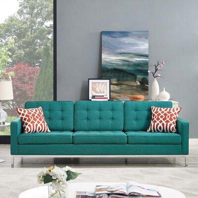 Gayatri Sofa Upholstery: Teal
