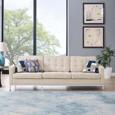Gayatri Sofa Upholstery: Beige