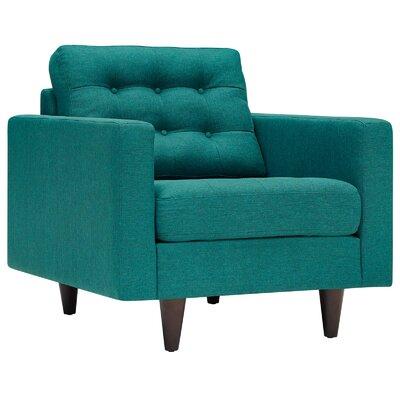 Warren Armchair Upholstery: Teal
