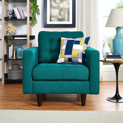 Warren Armchair Upholstery: Teal