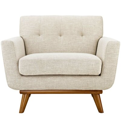 Johnston Armchair Upholstery: Beige