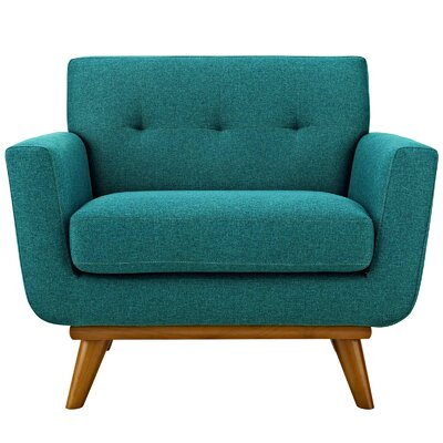 Johnston Armchair Upholstery: Teal