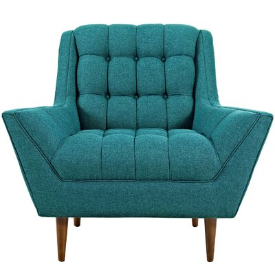 Freeborn Armchair Upholstery: Teal