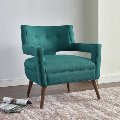 Sheer Armchair Upholstery: Teal