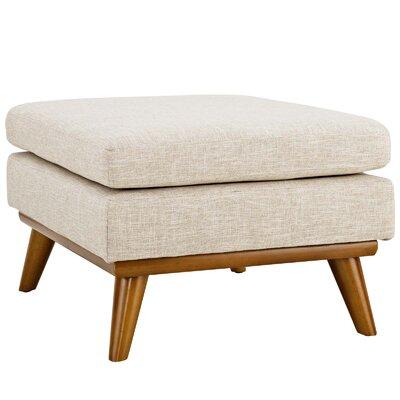 Johnston Ottoman Upholstery: Beige