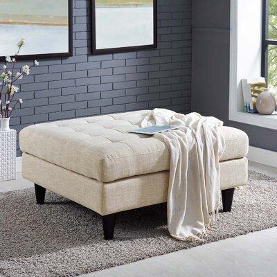 Warren Ottoman Upholstery: Beige