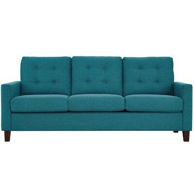Trombetta Sofa Upholstery: Teal