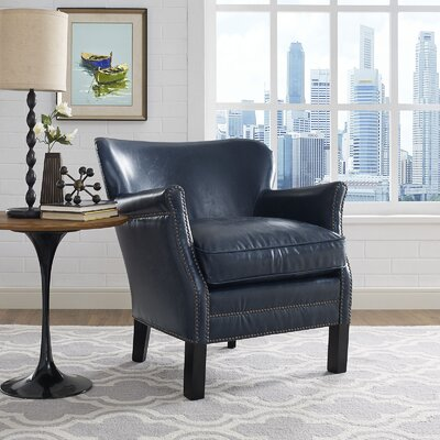 key Wingback Chair Upholstery: Blue