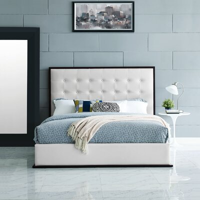 Madeline Bed Frame Color: White