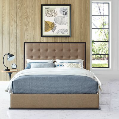 Madeline Platform Bed Color: Caf�
