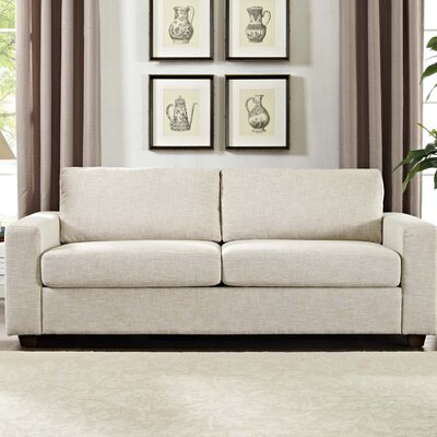 Pauley Sofa Bed Loveseat Upholstery: Beige